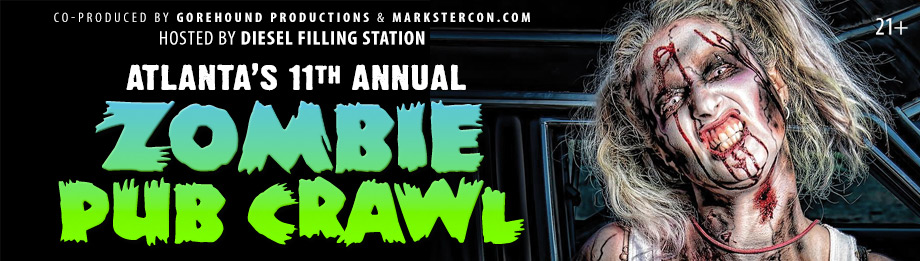 Atlanta's Annual Zombie Pub Crawl