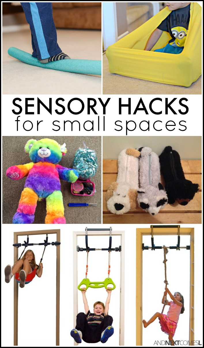 Toys For Sensory Processing Disorder : Sensory hacks for small spaces and next comes l