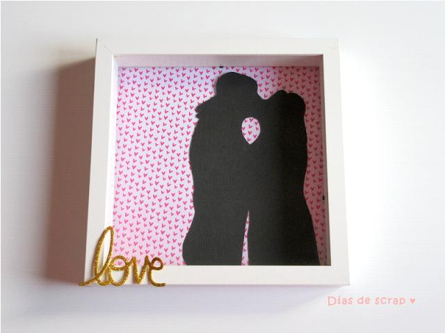 scrap diy paso a paso regalo original pareja enamorados