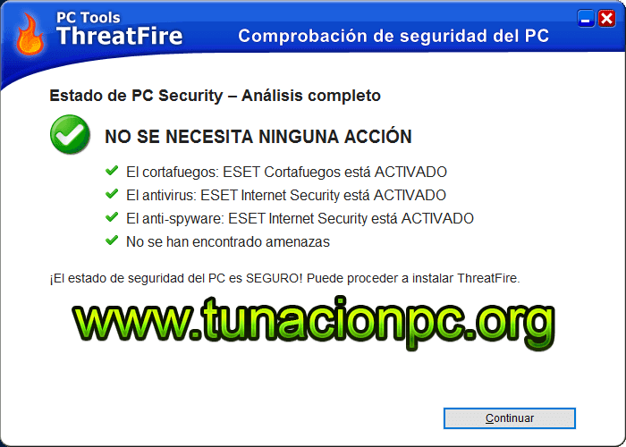 PC Tools ThreatFire Gratis