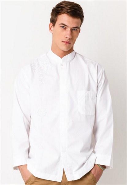 Model baju muslim pria motif polos terbaru untuk lebaran 2017/2018