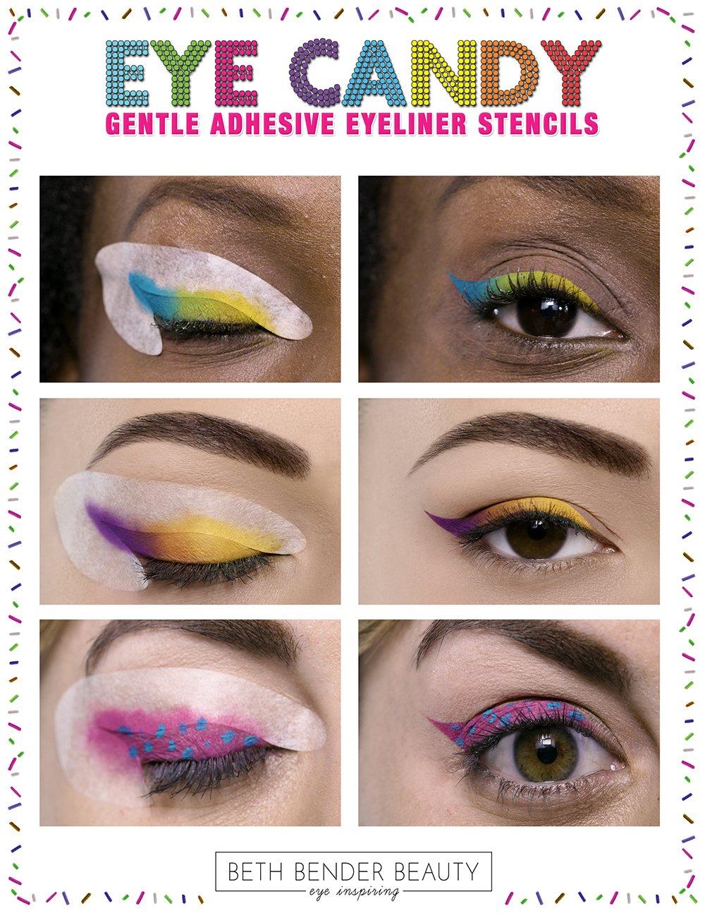 Savvy Deets Bridal: Bridal Beauty: Winged Eyeliner Stencil