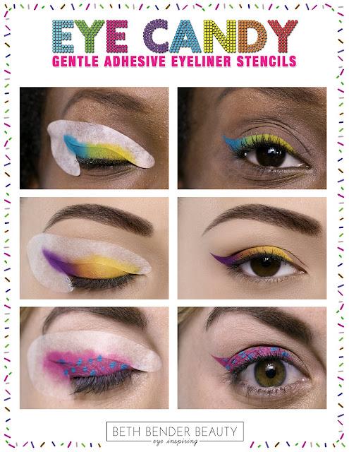 beth bender beauty eyeliner stencil