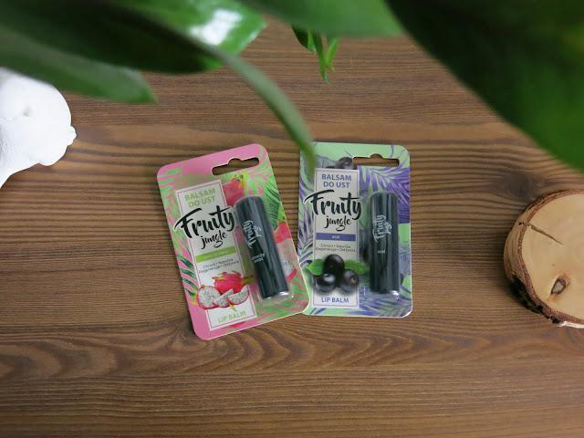 Fruity jungle | Owocowe balsamy do ust