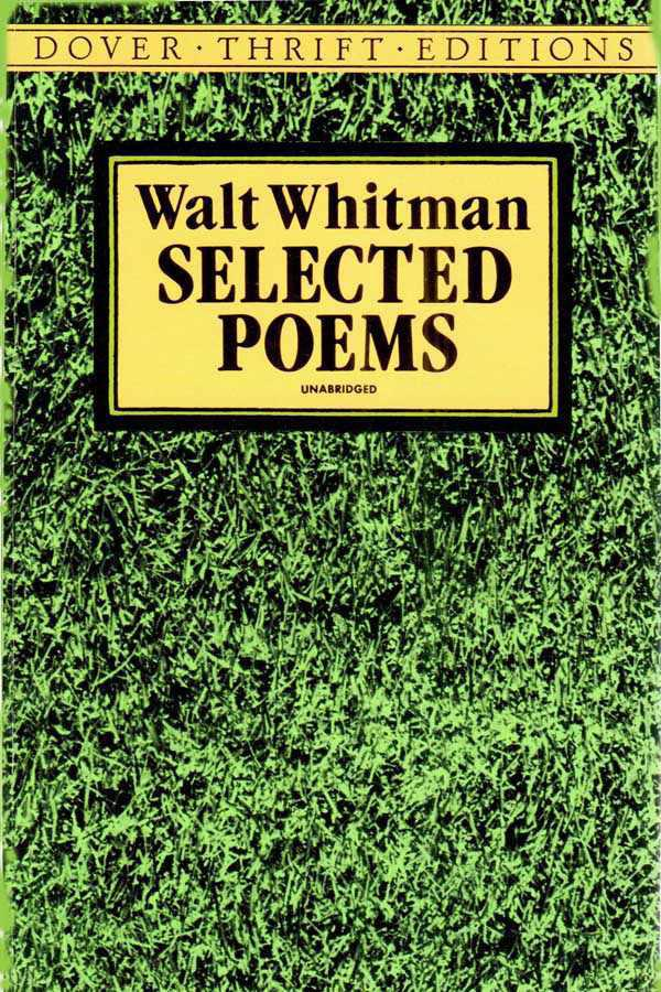 Selected Poems Walt Whitman Freelibrosme