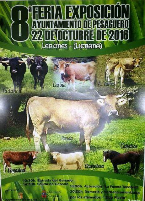 8� Feria exposici�n de ganado en Lerones