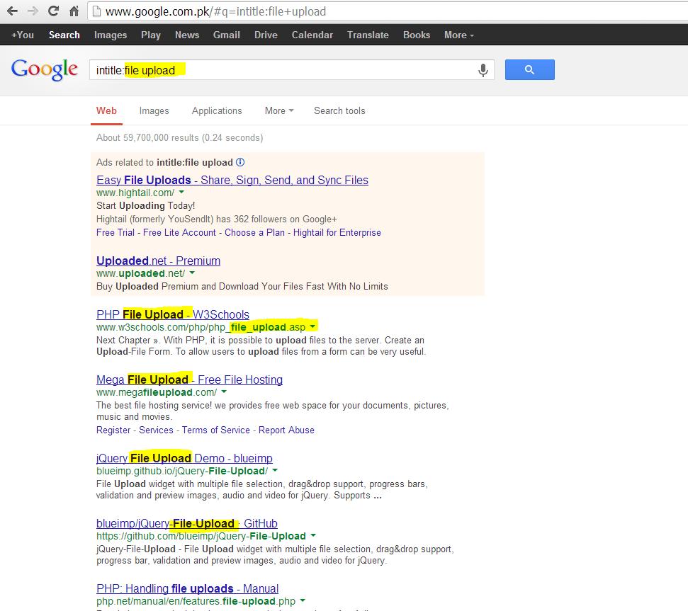 The Virus: Making Your Own Google Dorks For Hacking