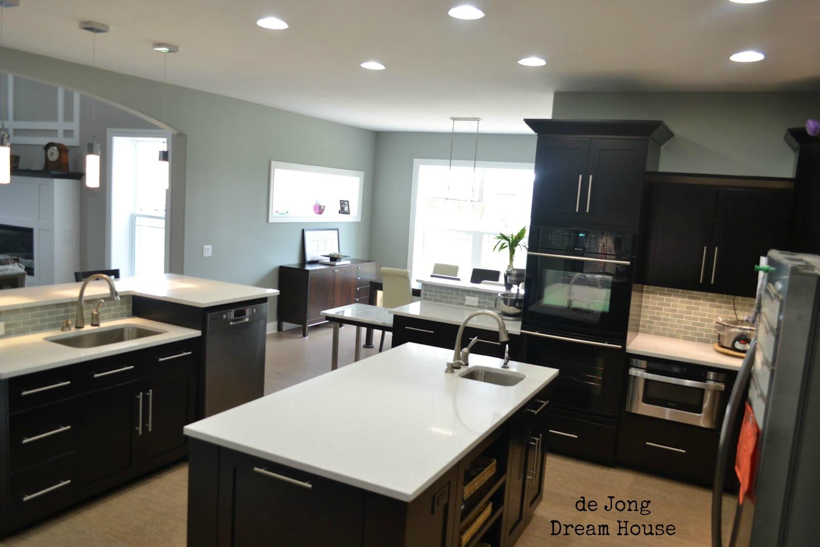 Lighting Basement Washroom Stairs: De Jong Dream House: Introducing...our Dream Kitchen