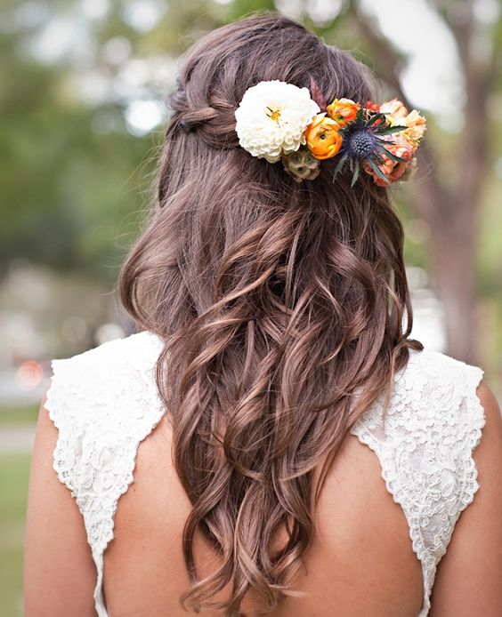 Hippie Wedding Hairstyles: Awesome Boho Bridal Hairstyle Ideas