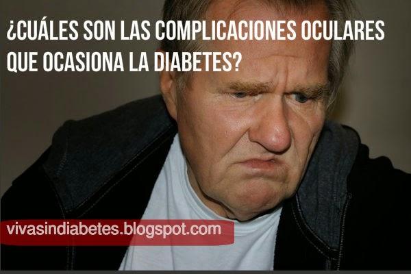 complicaciones oculares de la diabetes