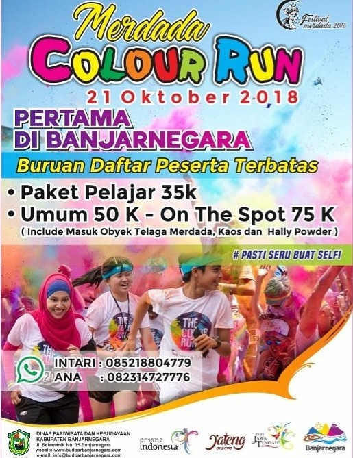 Merdada Colour Run • 2018