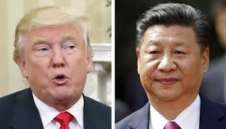 America and China war