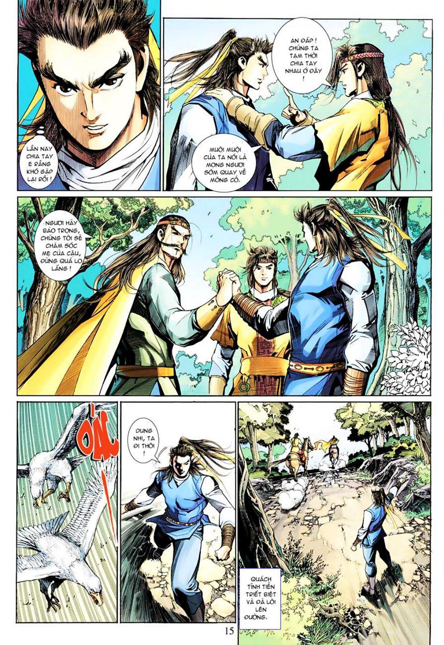 Anh Hùng Xạ Điêu anh hùng xạ đêu chap 38 trang 14