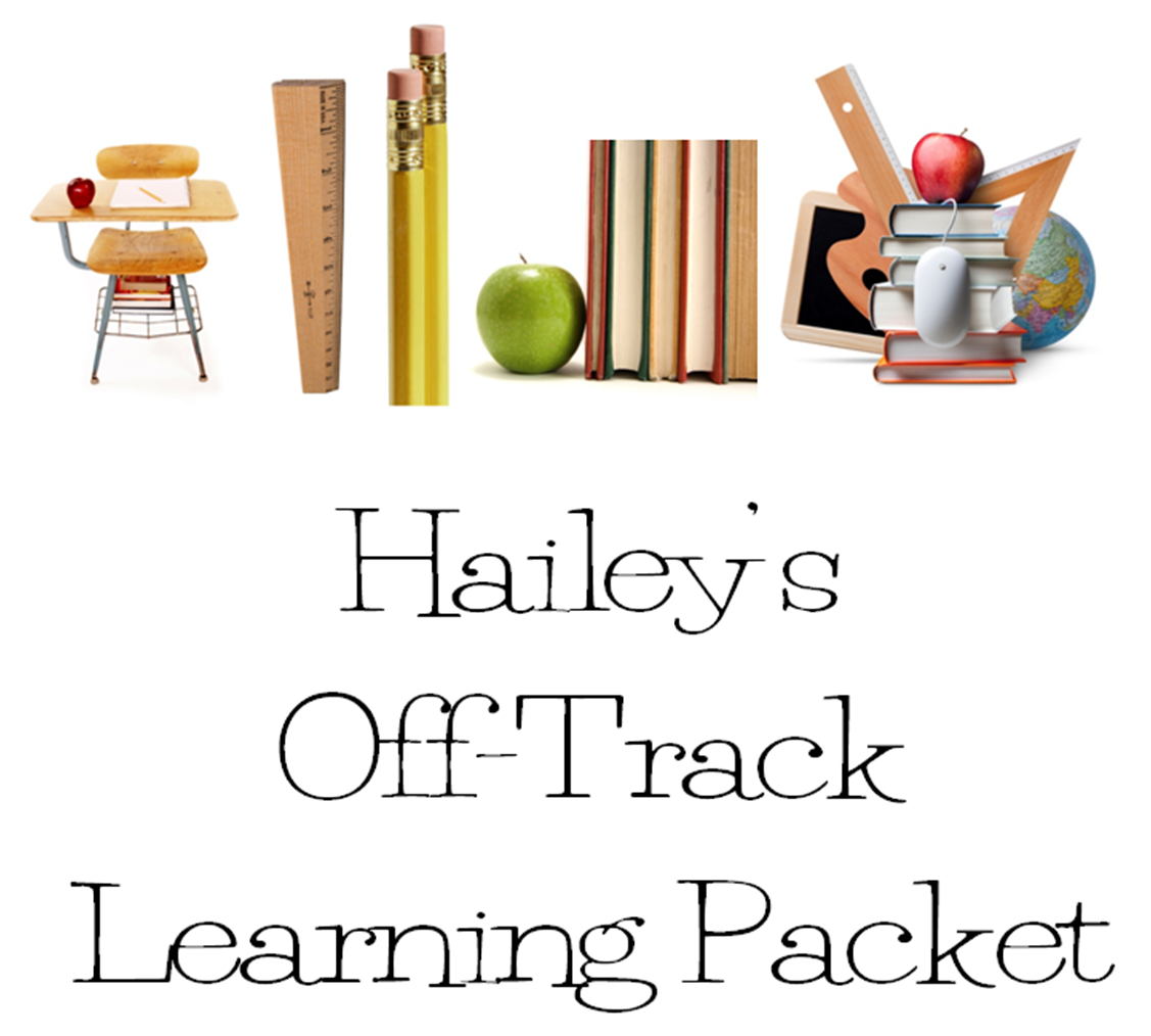 Busy Kids Learning Packets For Off Track Year Round