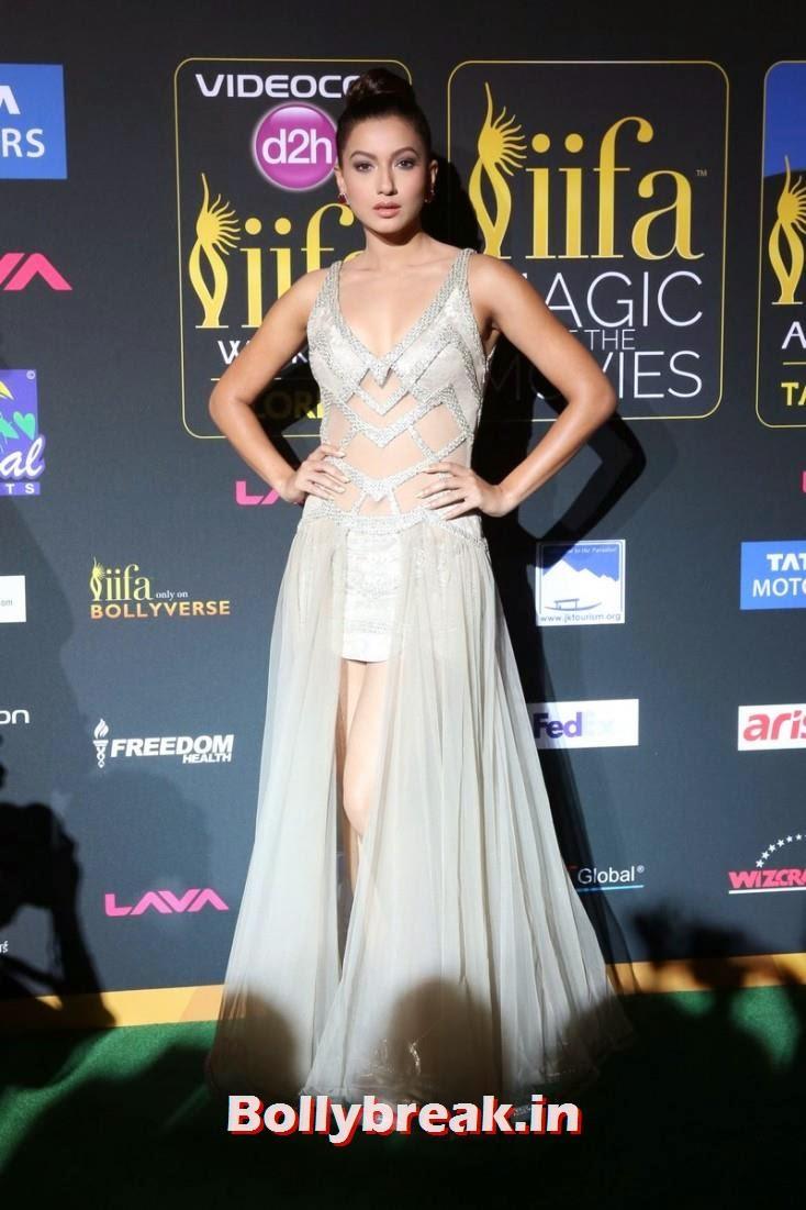 Gauhar Khan, Bollywood Celebs sizzle on IIFA 2014 Green Carpet Pics