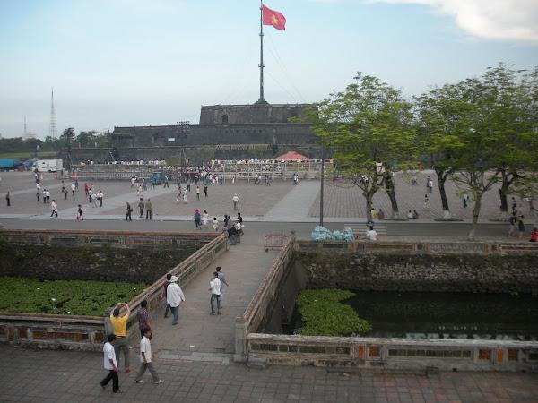 Ciudadela de Hue Bandera de Vietnam