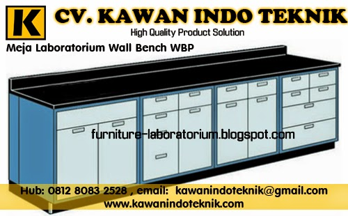 Meja Laboratorium Wall Bench WBP