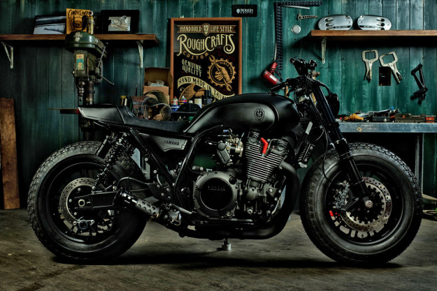 Yamaha XJR 1300 Cafe Tracker