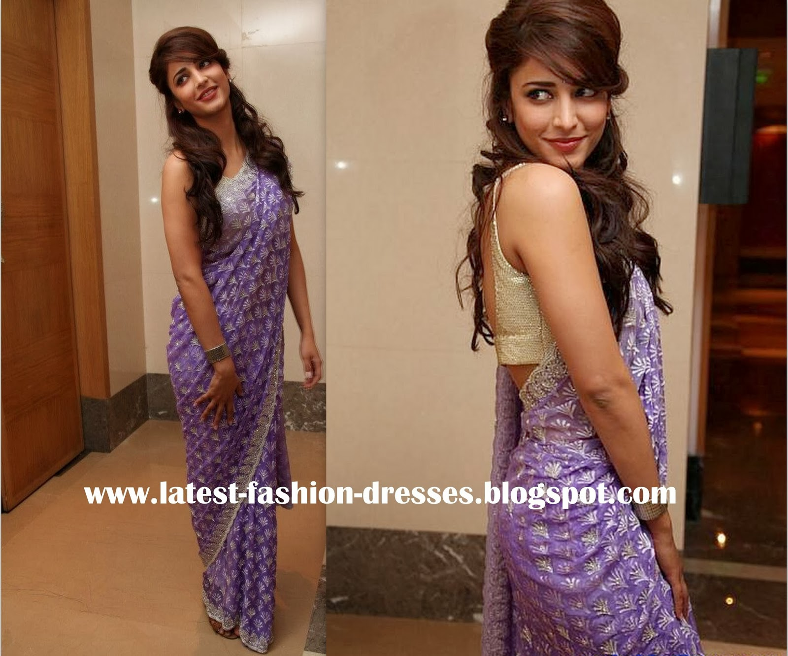 sruthihasan saree photos