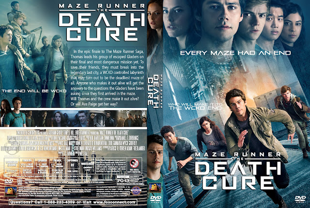 Maze Runner: The Death Cure DVD Cover
