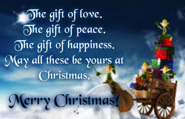 Christmas Wishes for Cards, Merry Christmas to you!