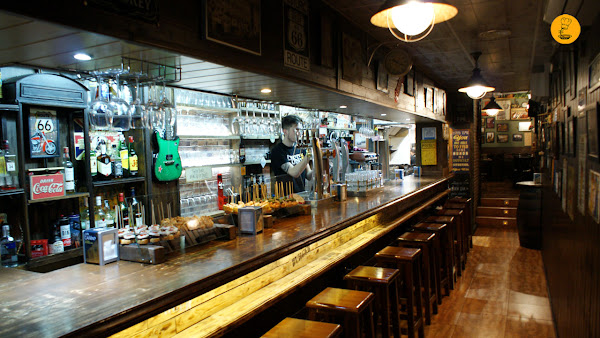 Barra Fogg Bar en Madrid
