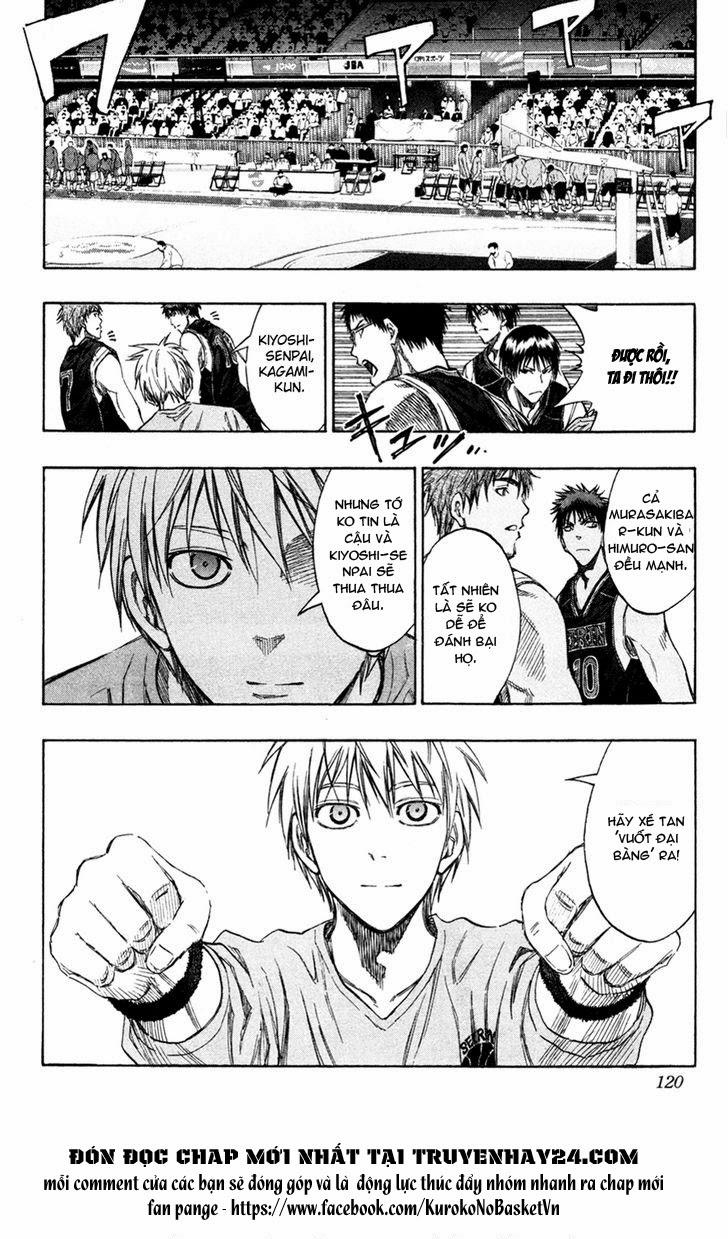 Kuroko No Basket chap 150 trang 14