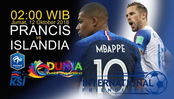 Link trực tiếp Pháp vs Iceland, 2h00 ngày 12/10 (Giao hữu 2018)