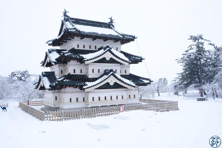 Le Chameau Bleu - Voyage au Nord du Japon - Tohoku - Chateau d'Hirosaki