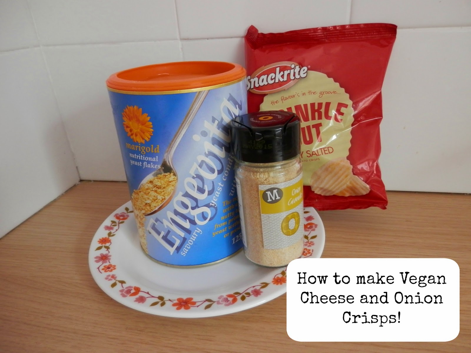 vegan cheese and onion crisps how to make cheap simple homemade nutritional yeast crisps chips second hand susie blog