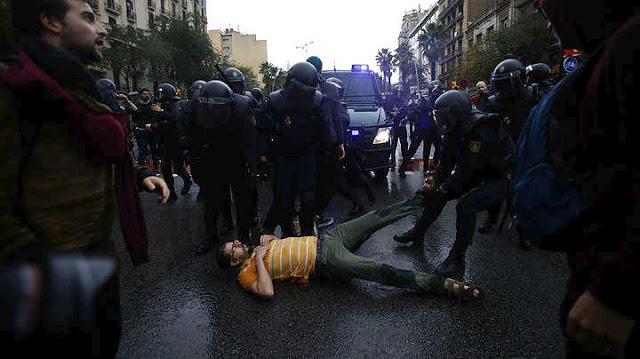 Δραματική αύξηση των τραυματιών στην Καταλονία για το δημοψήφισμα