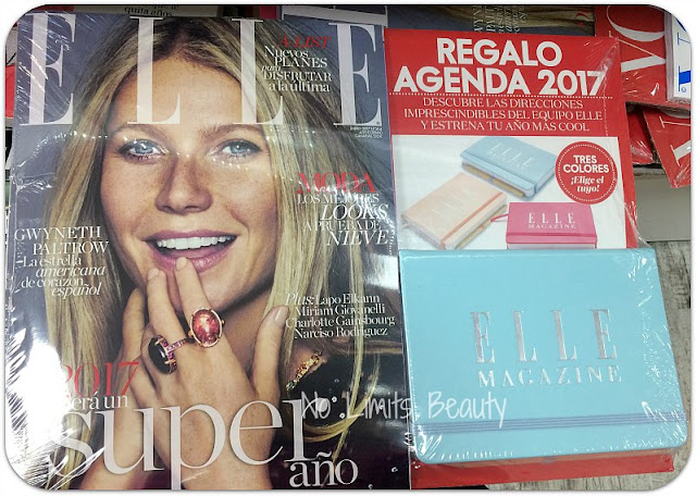 Regalos revistas enero 2017: Elle