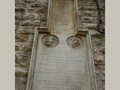 Epigrafe Torre dell'Orologio Ruvo di Puglia