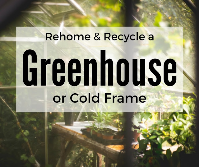 recycle greenhouse cold frame greenhouse glass