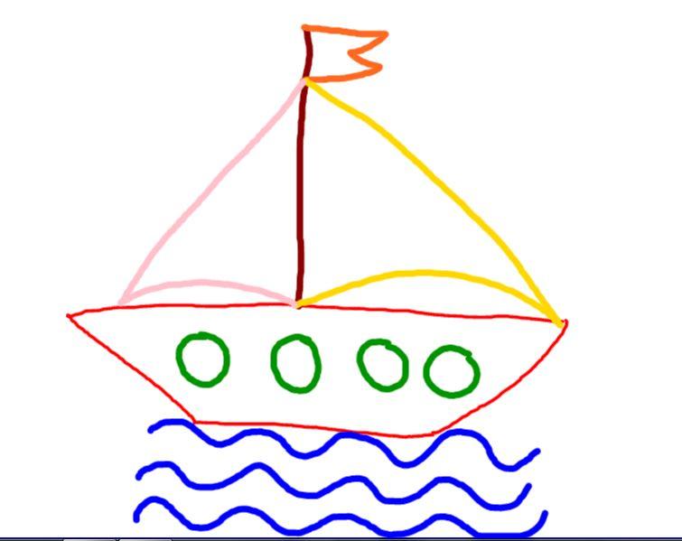Mi Clase De Infantil Vamos A Dibujar Un Barco
