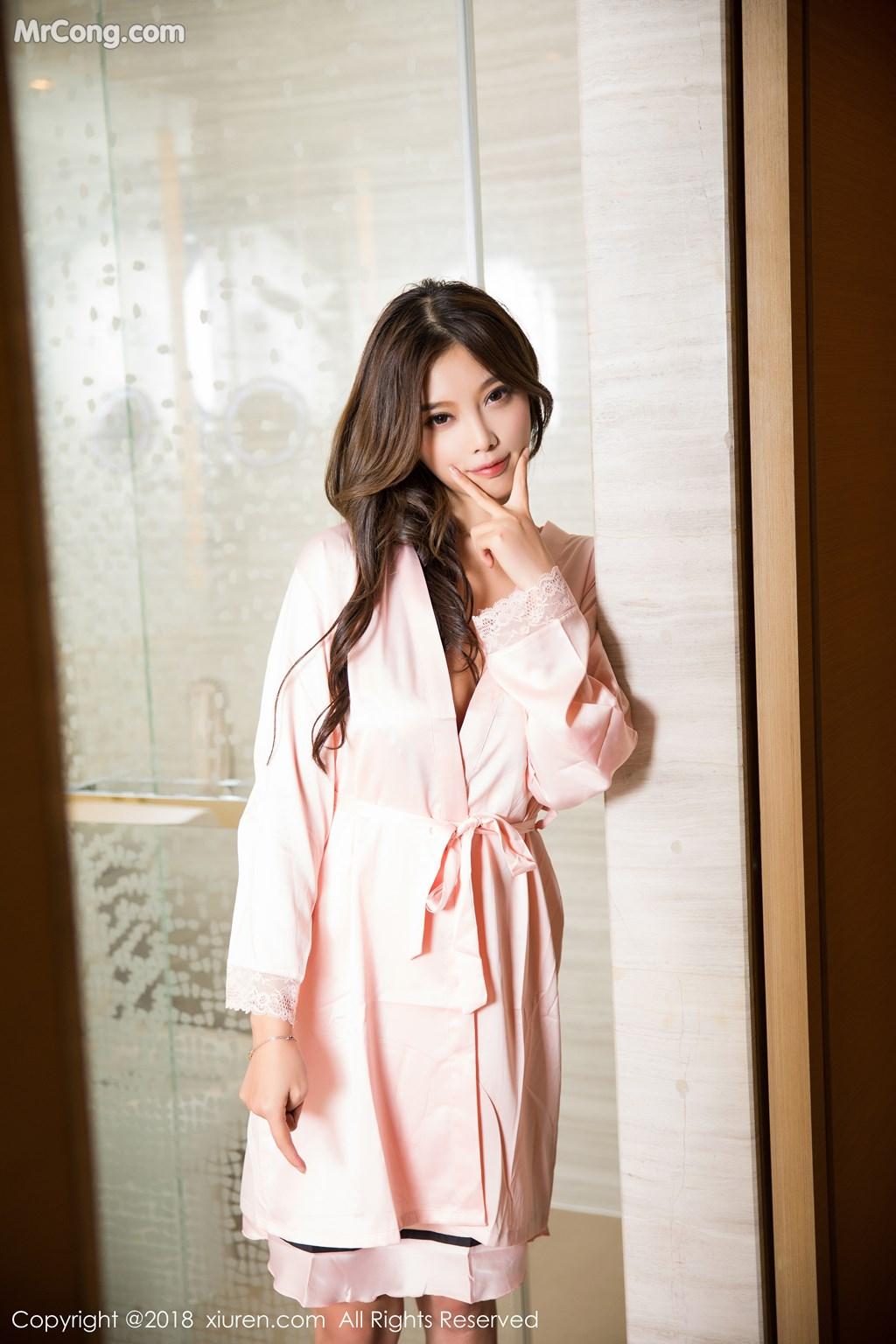 Image XIUREN-No.1208-Yang-Chen-Chen-sugar-MrCong.com-007 in post XIUREN No.1208: Người mẫu Yang Chen Chen (杨晨晨sugar) (56 ảnh)