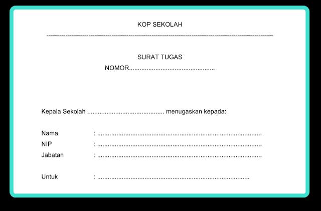 Aplikasi Surat Tugas Administrasi TU (Tata Usaha) Sekolah Resmi Sesuai Juknis 2017-2018