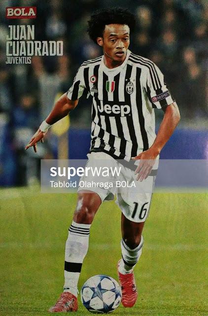 Juan Cuadrado Juventus 2015