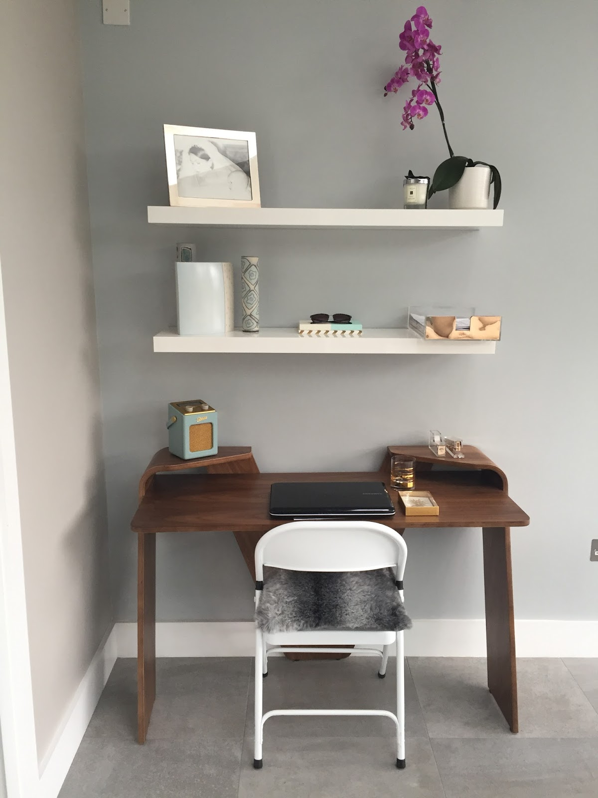 An Interiors Post – Creating a compact study area