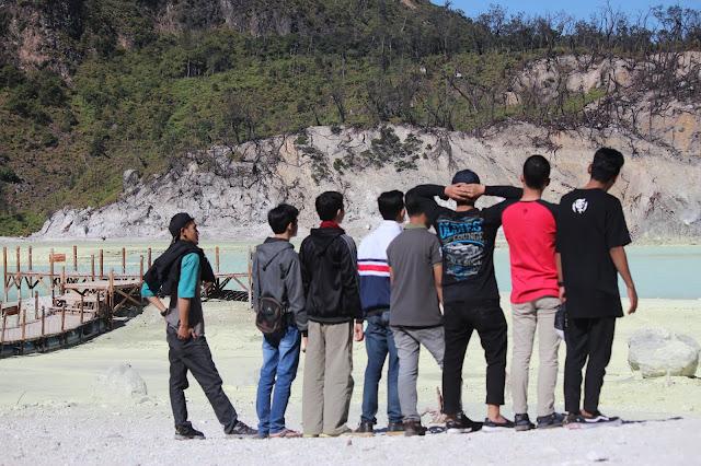 Jadi Baru Kebumen 2018 Tour To Bandung, Best Momen- foto terbaik di kawah putih 2