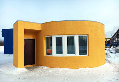 Η κατασκευή του σπιτιού του μέλλοντος