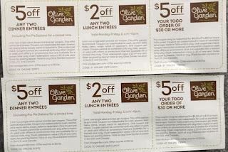 olive garden printable coupons - Olive Garden Oshkosh