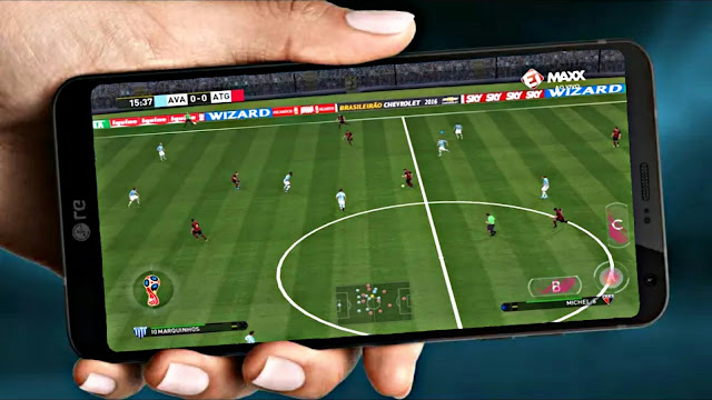 DLS Mod FIFA 18 Android 100 Mb Update Best Graphics HD Offline