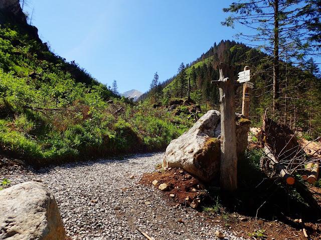 Odbicie na Iwaniacką Przełęcz
