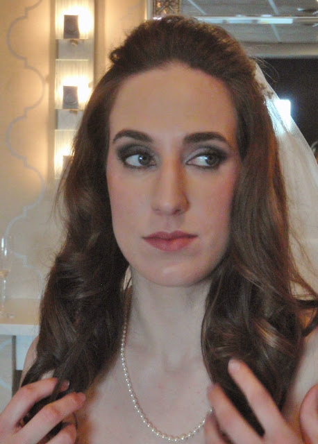 smoky eye bridal makeup