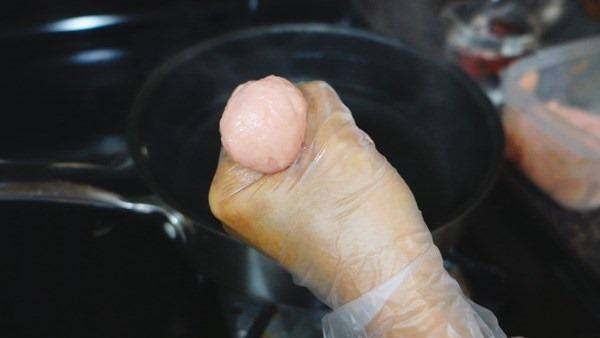สูตรลูกชิ้นหมูเด้ง วิธีทำลูกชิ้นหมูเด้ง