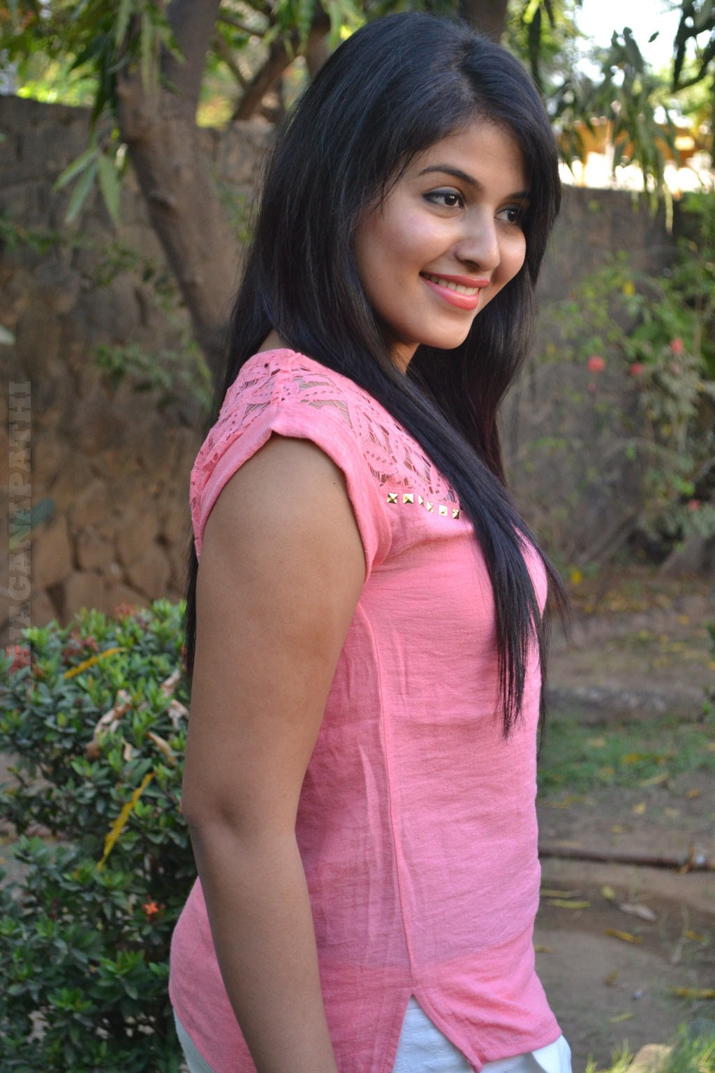 Actress Anjali In Pink Dress Latest Hot Photos  Gateway -7949