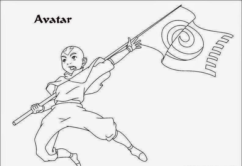 Desenhos Para Colorir E Imprimir Desenhos Do Avatar Para Colorir