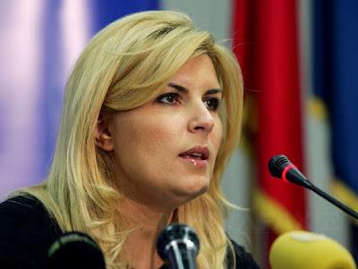 Elena Udrea, Gala Bute, korrupció, Románia, DNA, Bute gála, Rudel Obreja