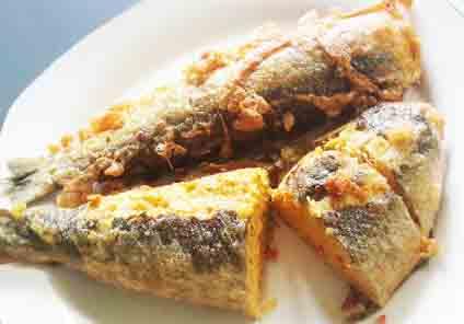 Otak Bandeng (Stuffed Milkfish) Recipe